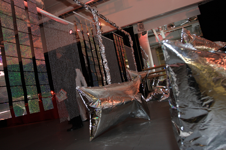 Silver Clouds Installation