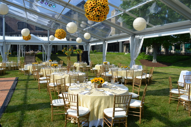 Private Tented Dinner Party
