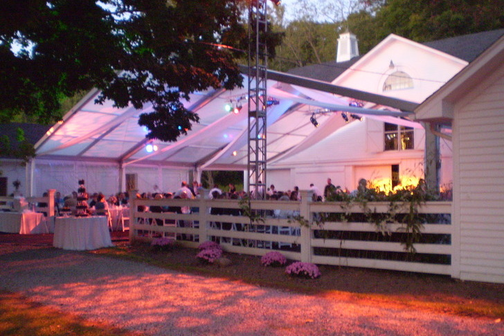 Wedding in a Clear Span Tent